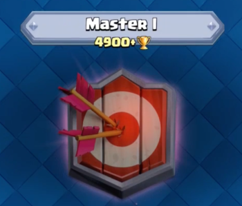 Clash Royale Master I 4900 Trophies