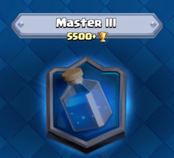 Clash Royale Master III 5500 Trophies