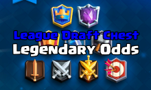 Clash Royale Leagues Draft Chests Legendary Odds