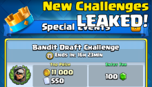Clash Royale New Challenges Retro Royale Insane Draft Mode Team Challenge Leaked