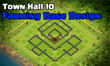 Clash of Clans Best Town Hall 10 Farming Base Design