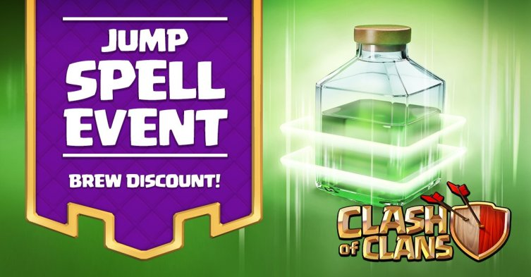 Clash of Clans Jump Spell Event
