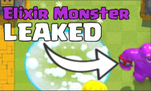 Clash Royale Elixir Monster Leaked April Update