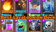 Clash Royale LavaLoonion Deck