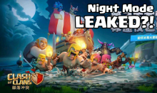 Clash of Clans Night Mode Shipwreck May 2017 Update