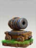 Clash of Clans Builder Base Cannon Cart