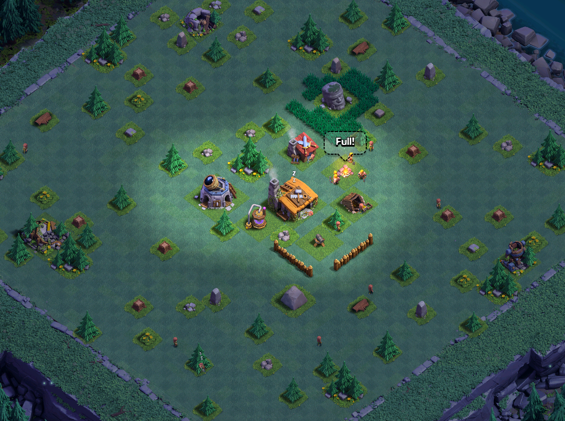 clash of clans builders base builders hall 2 base design layout