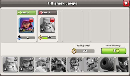 Clash of Clans Builders Base Update Army Camps
