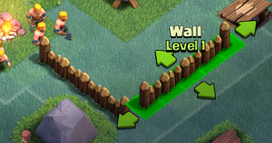Clash of Clans Builders Base Update Walls