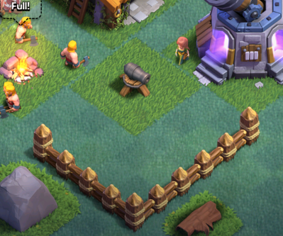 Clash of Clans Builder's Base Base Design Walls