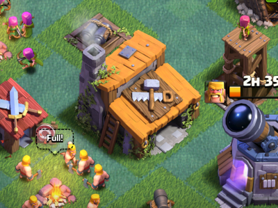 Clash of Clans Builder's Base Base Design Builders Hall
