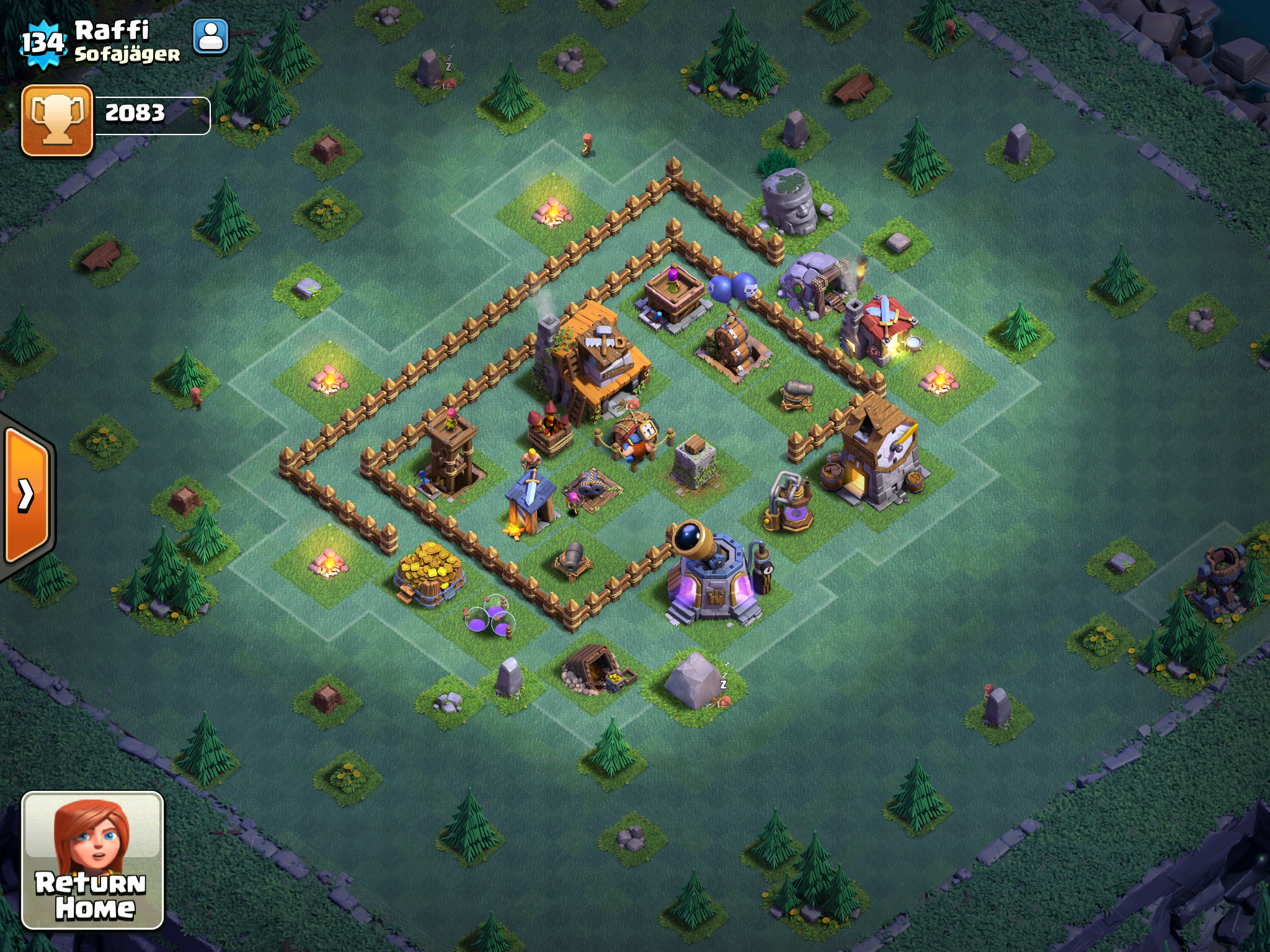 Clash Of Clans Builder S Base Base Design Tips And