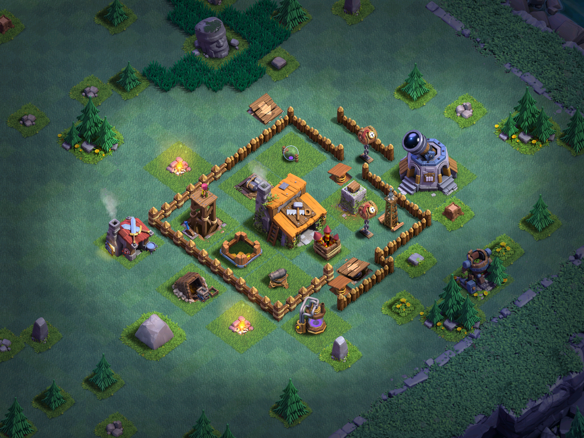 Builder hall bh base designs for clash of clans clash for