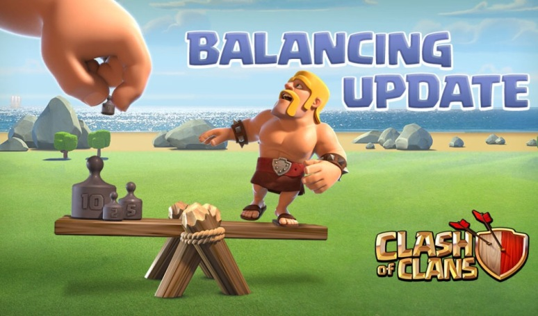 Clash of Clans June Update Balance Changes New Spell Levels