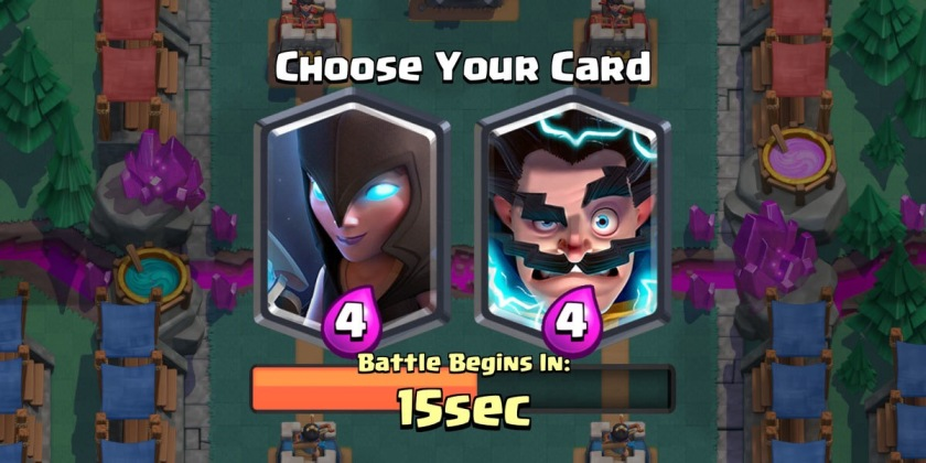Night Witch Draft Challenge Clash Royale
