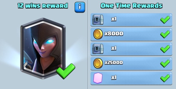Night Witch Draft Challenge Clash Royale Rewards