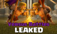 Clash of Clans May Update Versus Battles