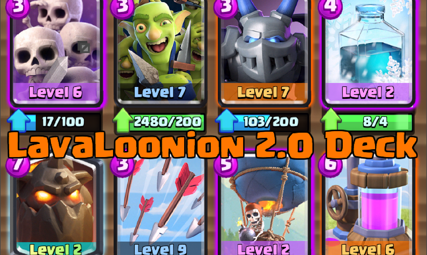 how to build a deck in clash royale