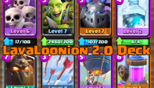 Best LavaLoonion Deck Clash Royale