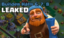 Clash of Clans BH6 BH7 BH8 Leaked Update