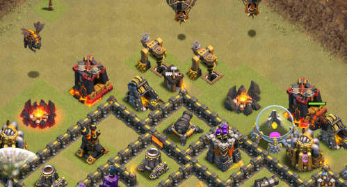 TH10 LavaLoonion Strategy Clash of Clans Poison