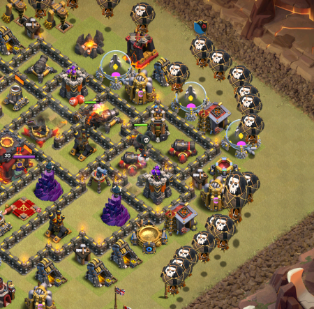TH10 Three Star Attacking Guide for LavaLoonion | Clash for