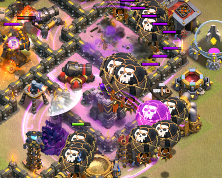 TH10 LavaLoonion Strategy Clash of Clans Rage