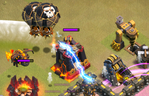 TH10 LavaLoonion Strategy Clash of Clans Backup Loons