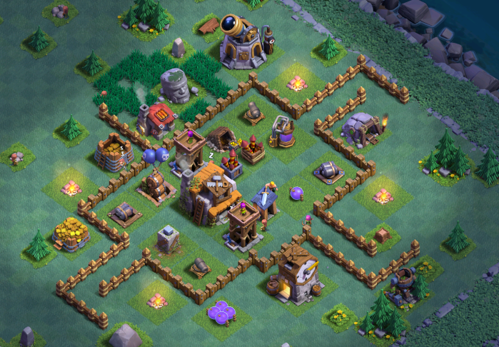 Builder Hall 4 Bh4 Base Designs For Clash Of Clans Clash