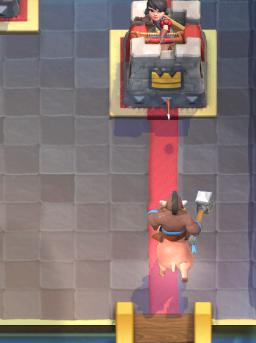 Clash Royale Hog Log Bait Deck Hog Rider