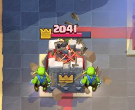 Clash Royale Hog Log Bait Deck Goblin Barrel