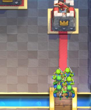 Clash Royale Hog Log Bait Deck Goblin Gang