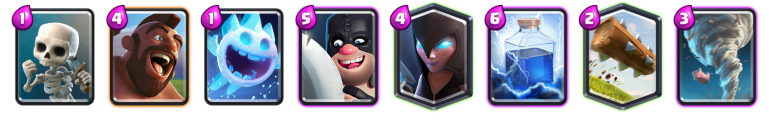 Clash Royale Best Hog Night Witch Deck
