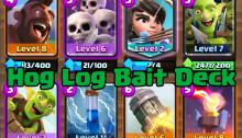 Clash Royale Hog Log Bait Deck