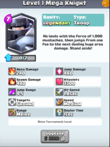Mega Knight New Troop Clash Royale Update