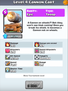 Cannon Cart New Troop Clash Royale Update