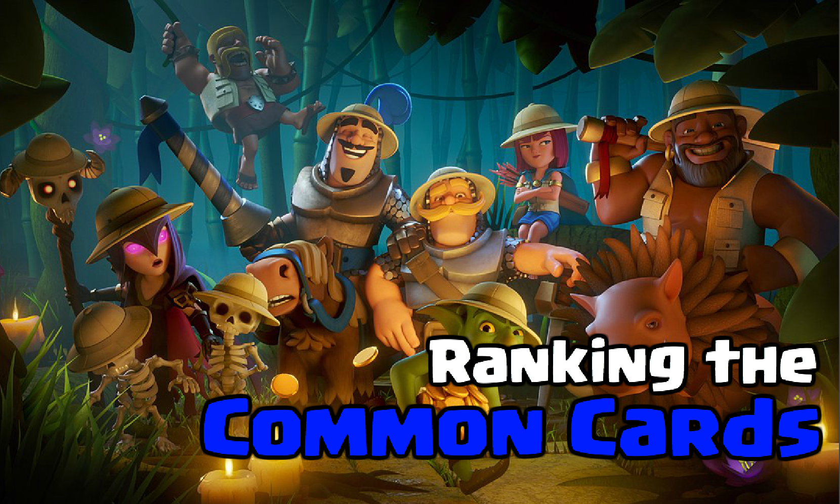 Clash Royale Common Card Rankings (November 2018)