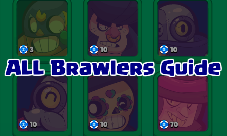 Brawl Stars All Brawlers Gameplay Summary Strategy