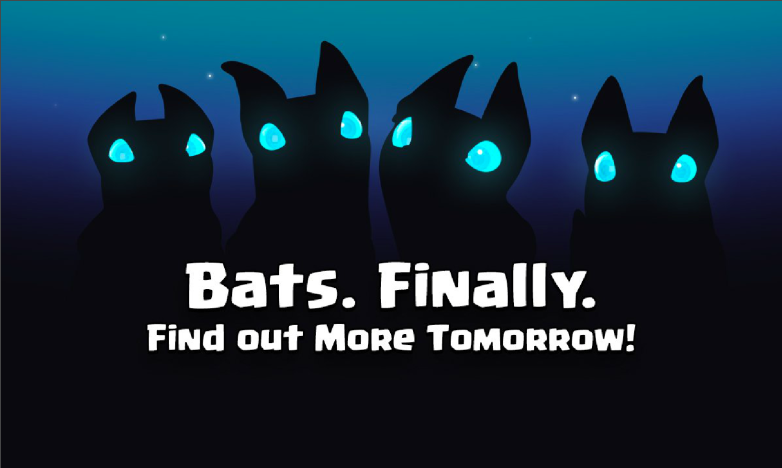 Bats Gameplay Strategy Introduction Release Date Clash Royale
