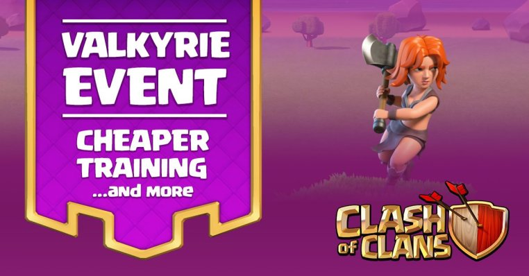 Valkyrie Event Clash of Clans