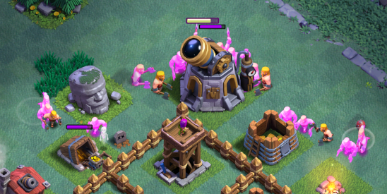 Clash of Clans Builder Hall 4 Strategy Barbarians Archers