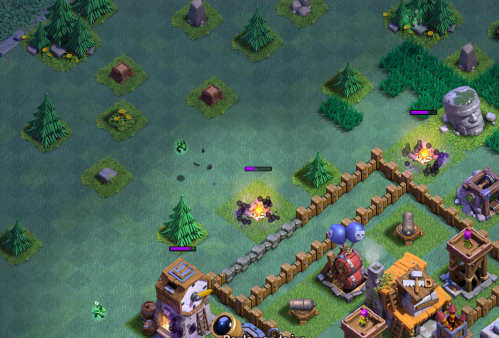Clash of Clans Builder Hall 4 Strategy Beta Minions