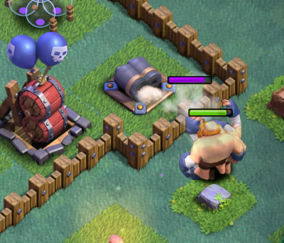 Clash of Clans Builder Hall 4 Strategy Giant Archer