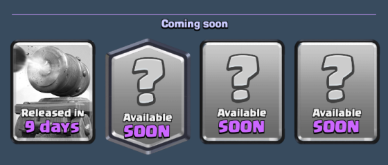 Cannon Cart Release Date Clash Royale