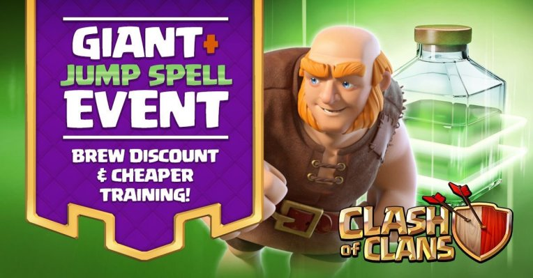 Jumpy Giant Event Clash of Clans