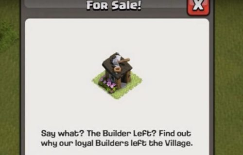 Sell Upgrade Builder Huts Clash of Clans August 2017 Update