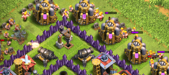 Clash of Clans Battle Ram Farming Strategy