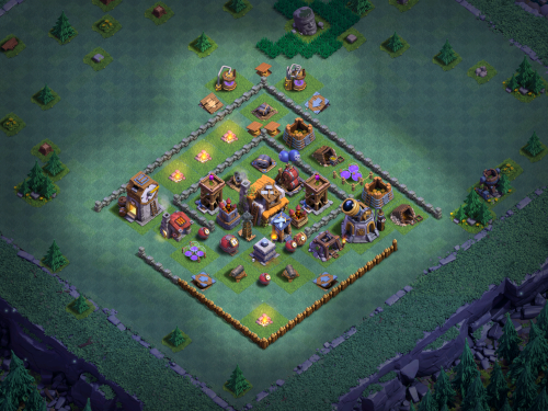 BH5 Base Layout Anti-Baby Dragons Clash of Clans