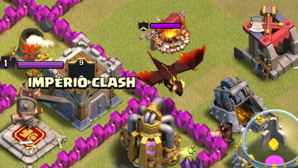 Clash of Clans TH7 Hog Riders War Attack