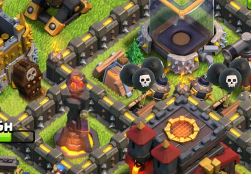Shrink Trap Base Design Clash of Clans